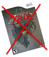 zelda twilight princess wii game